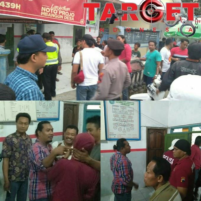 Tim Resmob Polres Pati Dan Jajaran Polsek Kayen Berhasil Meredam Tawuran Antar Warga di Desa Boloagung