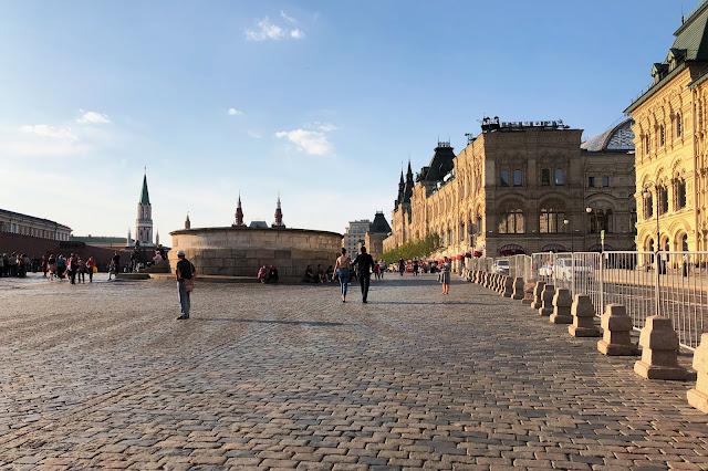 Красная площадь, Лобное место, ГУМ | Red Square, Lobnoye mesto (place of execution), GUM (mall)