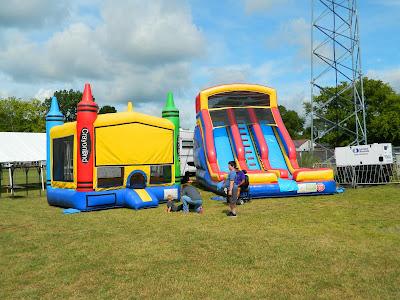 Inflatables at Sumner Daze Festival