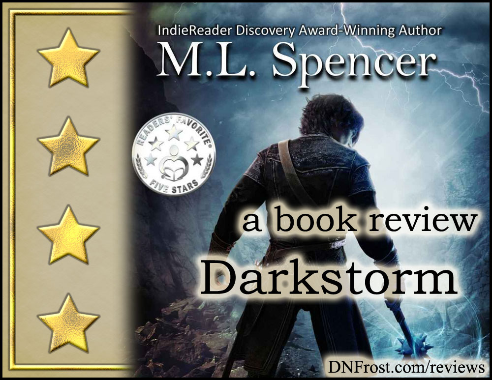 Darkstorm by M.L. Spencer: a thought-provoking romp through a unique fantasy world http://www.dnfrost.com/2017/03/darkstorm-by-ml-spencer-book-review.html A book review by D.N.Frost @DNFrost13 Part 1 of a series.