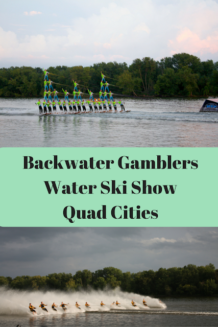Backwater Gamblers Water Ski Club and Show in the Quad Cities