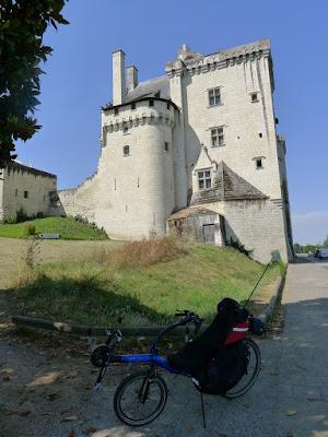 De Paris à la Rochelle en vélo couché, La Loire à Vélo Montsoreau