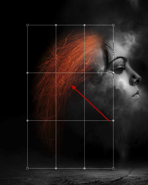 Membuat Manusia Rambut Api Melayang di Photoshop Membuat Manusia Rambut Api Melayang di Photoshop
