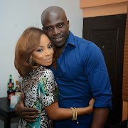 Aww…Toke Makinwa posts cute 12 Year Old Pic with Husband Maje Ayida