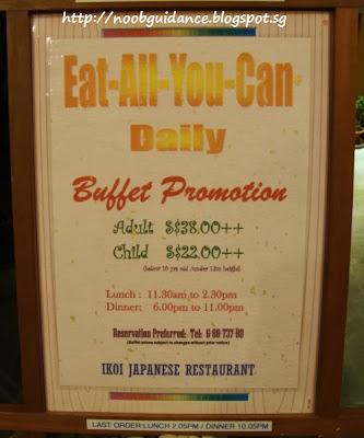 Ikoi Japanese Restaurant Opening Hours