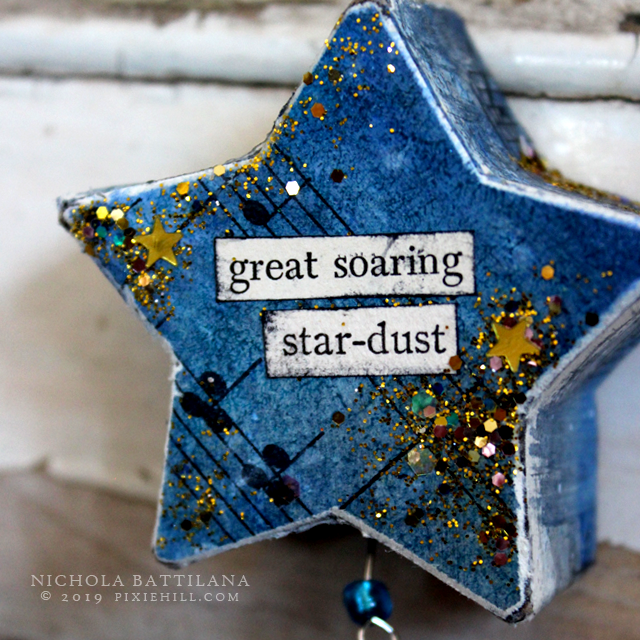 Dangly Paper Star Thingies - Nichola Battilana