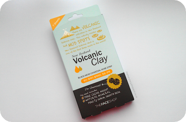 The Face Shop New Zealand Volcanic Clay Black Head Charcoal Nose Strip Review