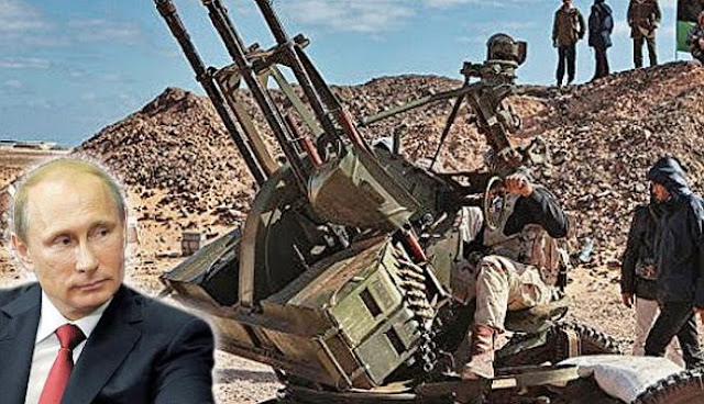 Ο Πούτιν θέλει να διαλύσει την Ε.Ε. μέσω της Λιβύης;
