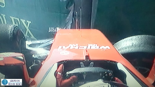 Accidente de Vettel
