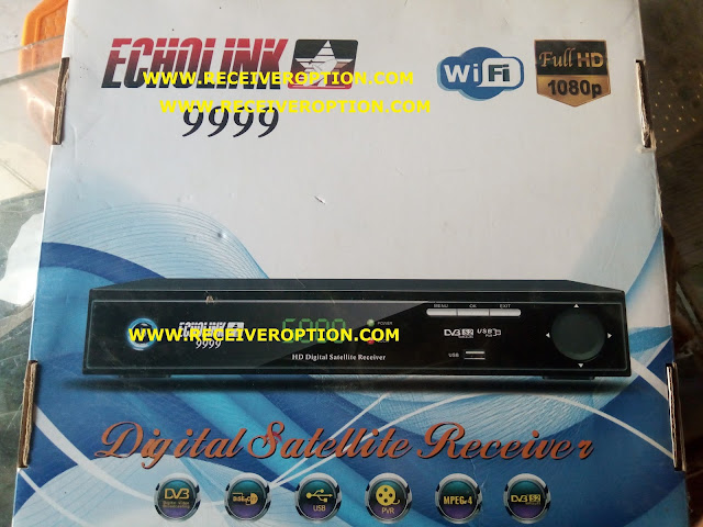 ECHOLINK 9999 HD RECEIVER AUTO ROLL POWERVU KEY NEW SOFTWARE