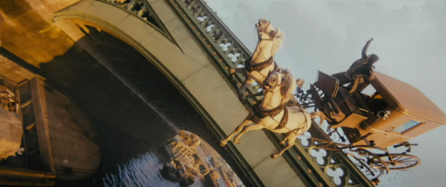 Assassin's Creed Syndicate London 1868 bridge horse-drawn carriage