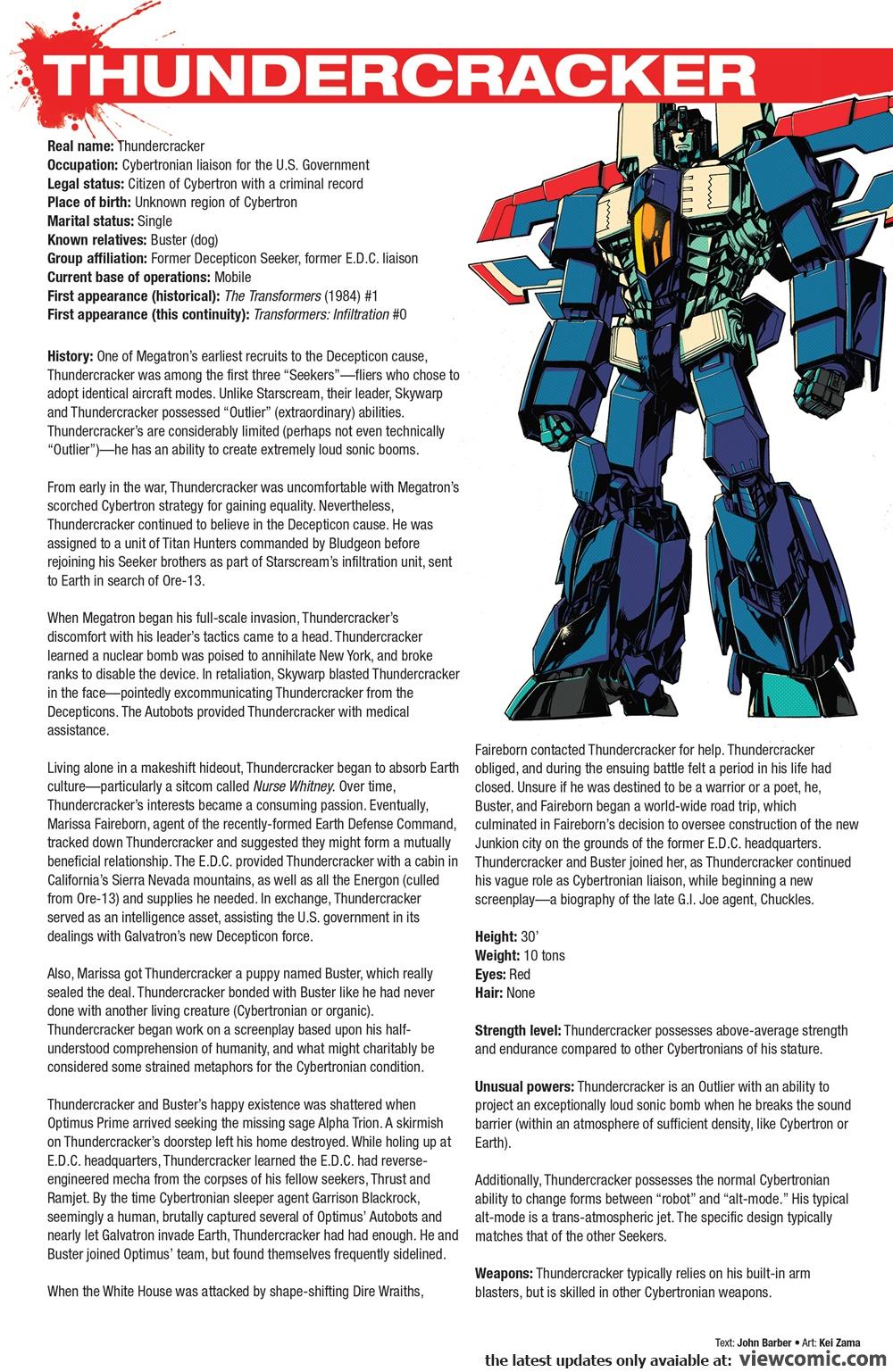 Hasbro Heroes Sourcebook 003 (2017) | Viewcomic reading