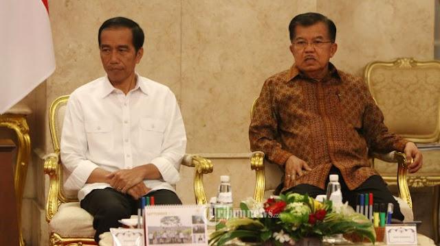 Di Akhir Masa Jabatan, Jokowi-JK Pecah Kongsi?