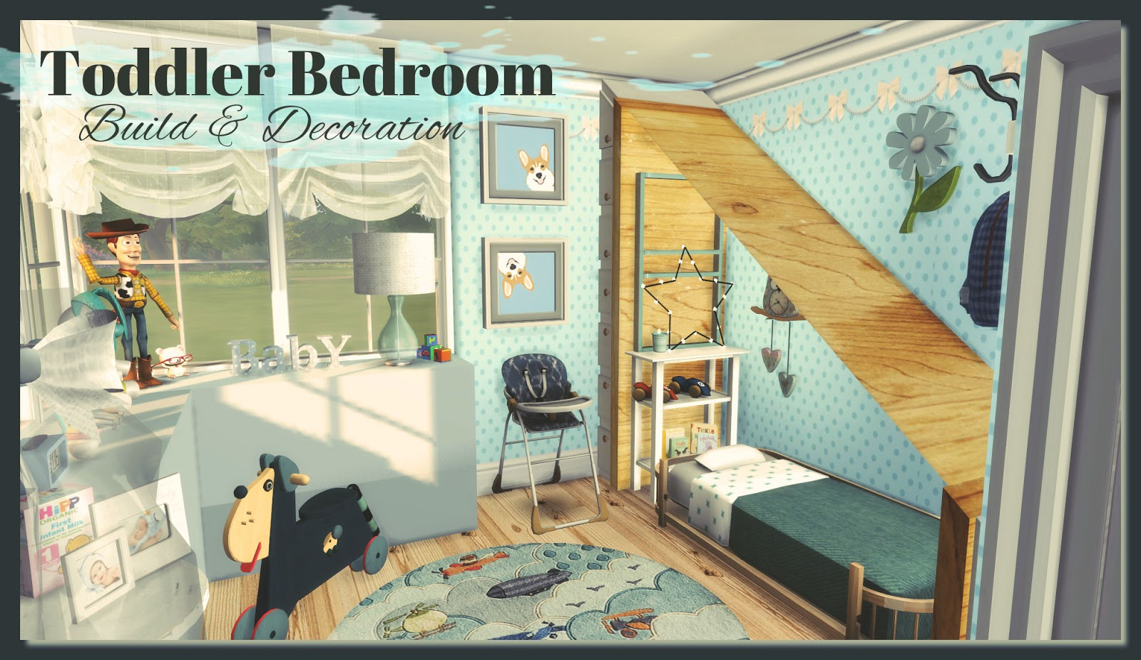 Amelia S Room Toddler Bedroom: Toddler Bedroom (Build & Decoration)