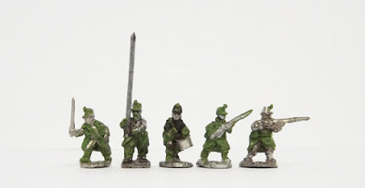 Command in greatcoat x 3 / Line in greatcoat x 2