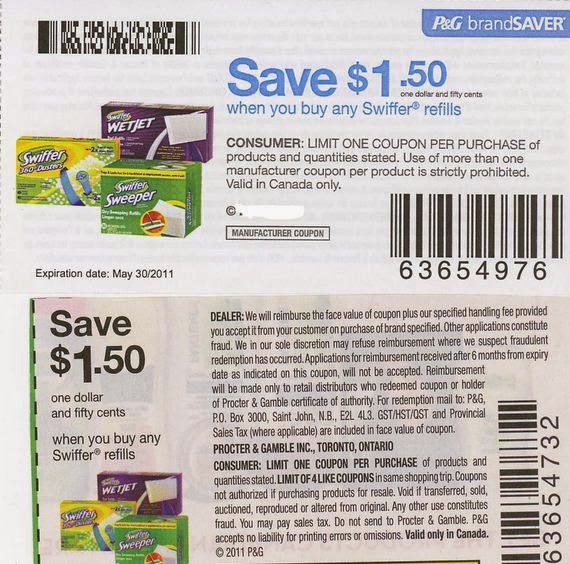 The Swiffer brand offers a money back guarantee on all their products. You can sign up for their email list to have promotional offers and printable coupons sent to your inbox as they become available.