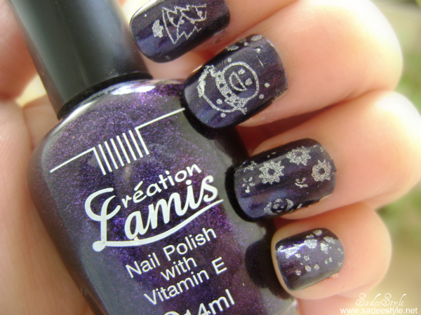 12 Nail Art Stamp Nail Art metal Template w/ Stamper