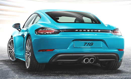 2019 Porsche 718 Cayman Rumors