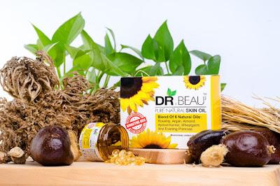 Rasai Perbezaan Kulit Wajah dengan DR.Beau Vitamin E Serum
