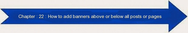 Next: How to Add Banners Above or Below All Posts and Pages