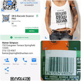 QR & Barcode Scanner pro paid Android app free download