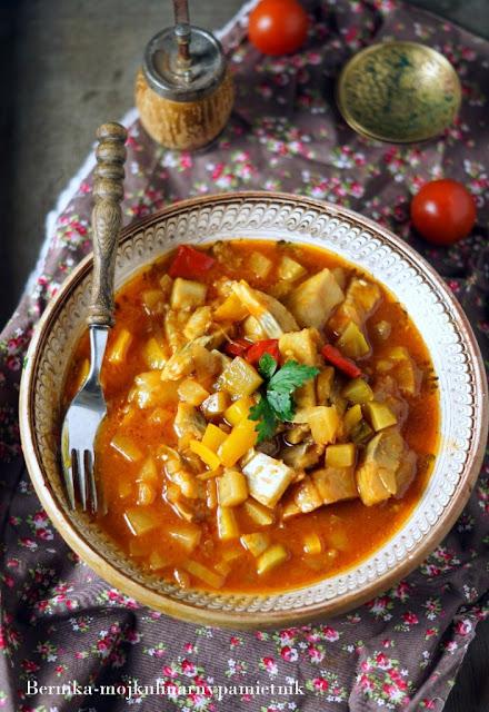 sledzie, salsa, sylwester, wigilia, swieta, przekaska, ananas, bernika, kulinarny pamietnik