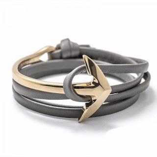 bracelet ancre femme