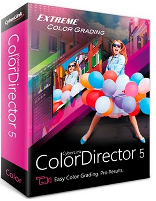 CyberLink ColorDirector Ultra 5.0.6301.0 poster box cover