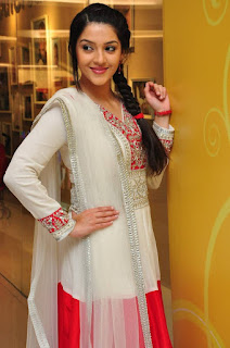 Mehreen Pictures in White Salwar Kameez at Krishna Gadi Veera Prema Gaadha Movie Promotion | ~ Bollywood and South Indian Cinema Actress Exclusive Picture Galleries