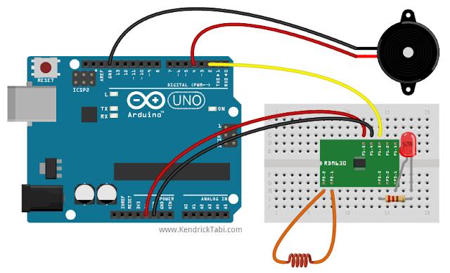 Arduino and rdm rfid module