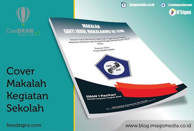 Contoh Cover Makalah Kegiatan Tingkat Sekolah