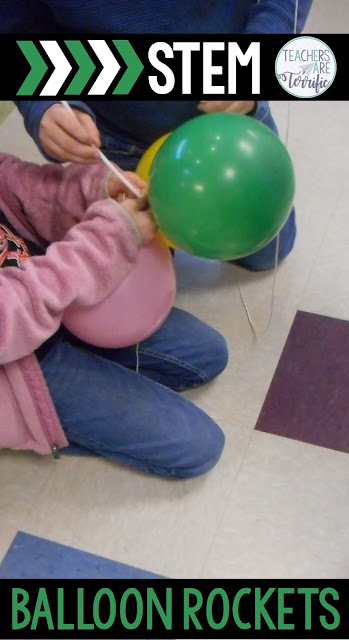 STEM Challenge: Well, of course, since they are kids the more the better, right? If one balloon works great, then two should work spectacularly! Check this blog post for more details!