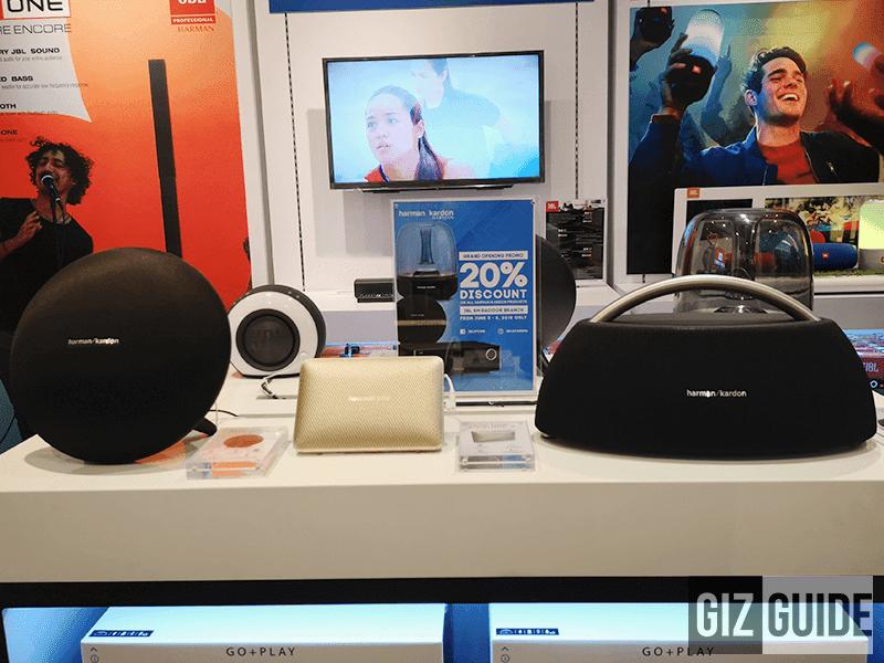 Portable yet powerful speakers