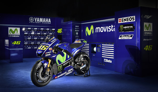 Valentino Rossi VR46 2017 Yamaha MotoGP