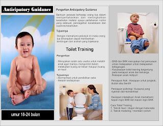 Contoh leaflet Toilet Training Pada Anak