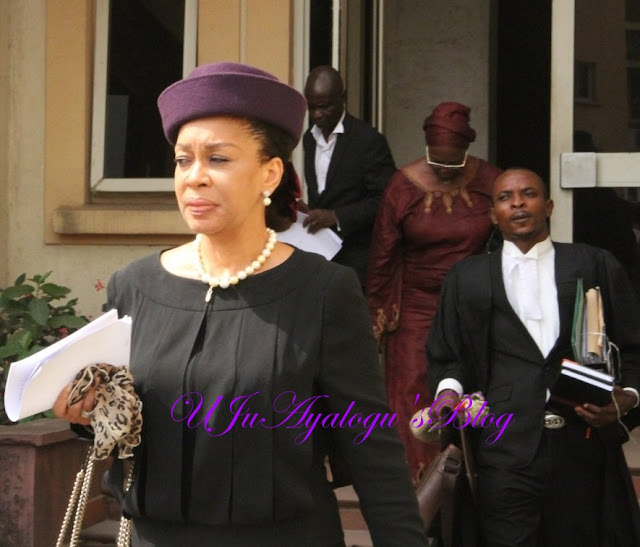 N5m alleged bribe: Ex-FHC Judge, Ofili-Ajumogobia Collapses in Court, Rushed to Hospital
