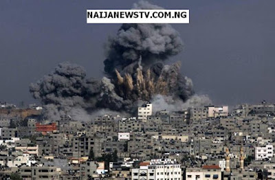 Israel Launches Major Airstrike On Gaza Strip