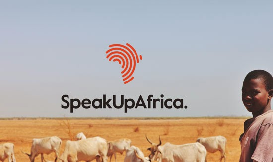Bold & Thin line Logo Speakup Africa