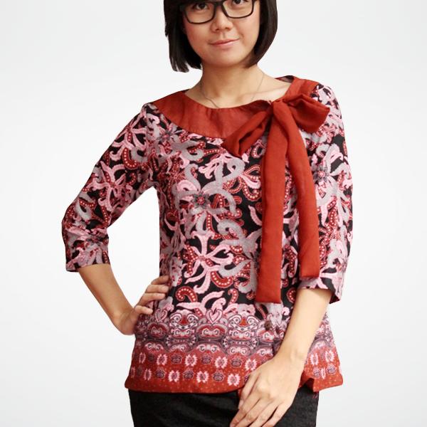 Model Batik Kerja Remaja Modern: 10 Model Baju Batik Remaja Lengan Panjang