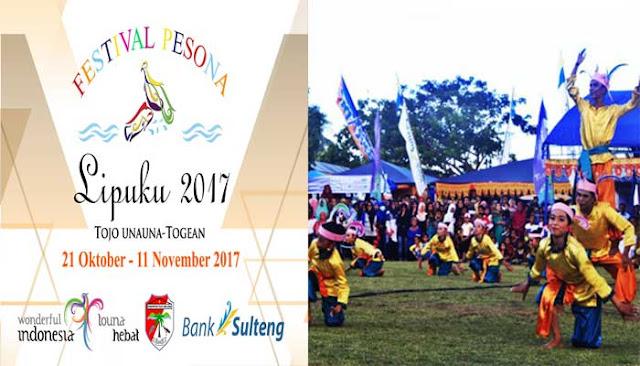 Kepulauan Togean Selenggarakan Festival Pesona Lipuku 2017