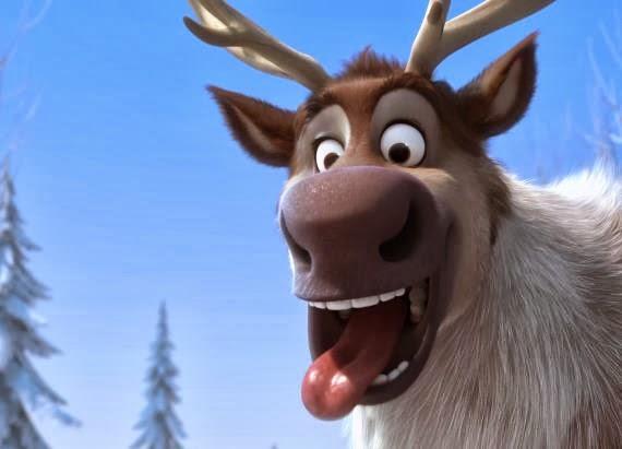 Disney S Frozen Sven The Reindeer Teaser Trailer