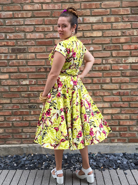 pinup girl clothing alfreda dress baton rouge floral