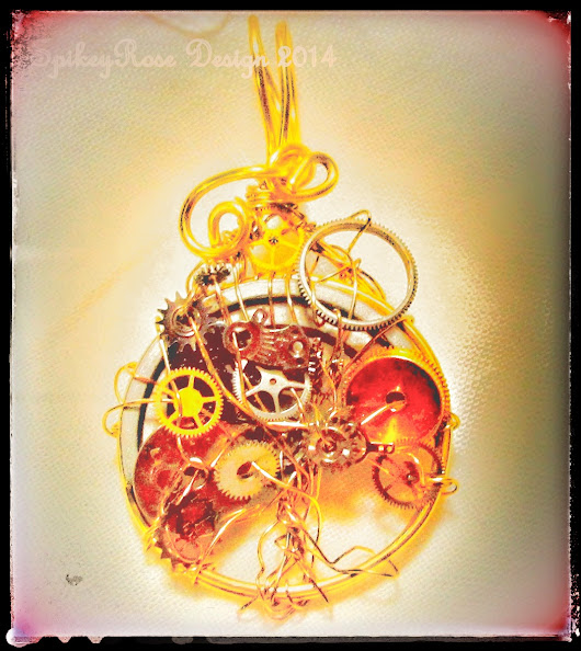 A bit about me! Clockwork Tree of Life Pendants