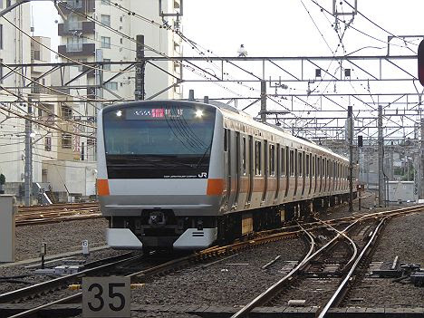【E233系代走!】ホリデー快速富士山2号 新宿行き