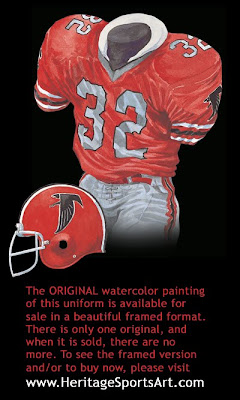 Atlanta Falcons 1980 uniform