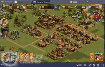 Forge of Empires Managing Your City and Buildings