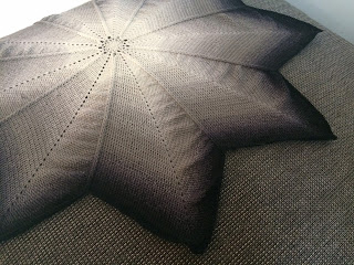 tutorial for crocheted star shaped blanket