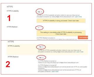 Cara Mengaktifkan HTTPS Blog TLD Di Blogspot
