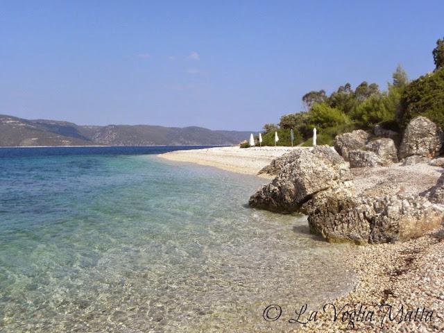 spiaggia di Ag. Joannis a Itaca