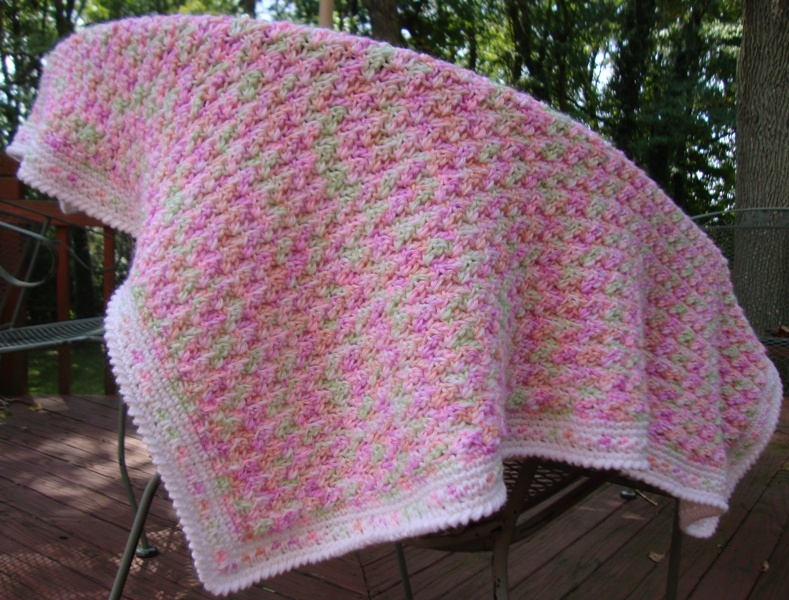 The Good Life Sherbert Shells Baby Blanket